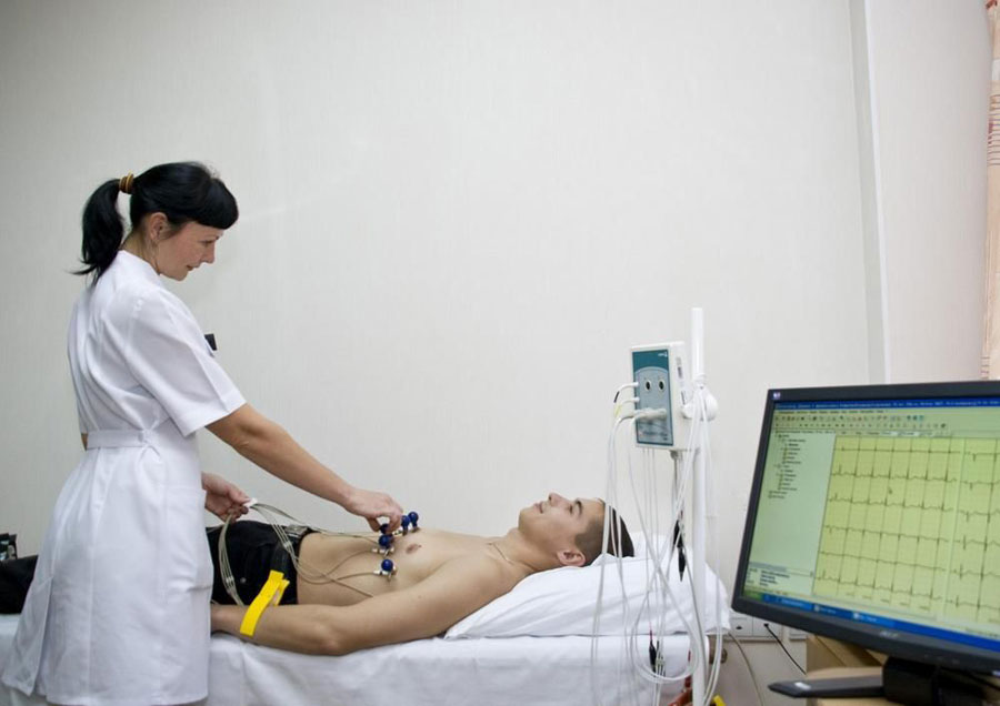 Лечение заболеваний системы кровообращения в санатории Приморье, г. Евпатория, Крым